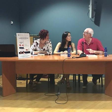 """Presentando """"Liderando Retos"""" en Valencia"""