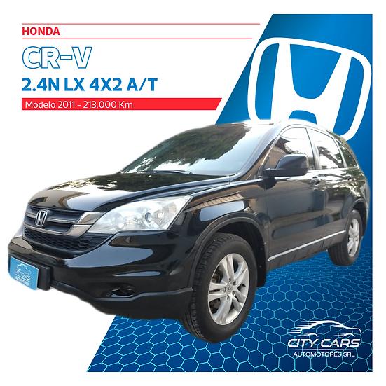 Honda CR-V 2.4 LX 4X2 A/T