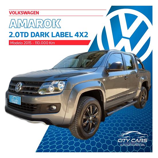 Volkswagen Amarok Dark Label 4x2