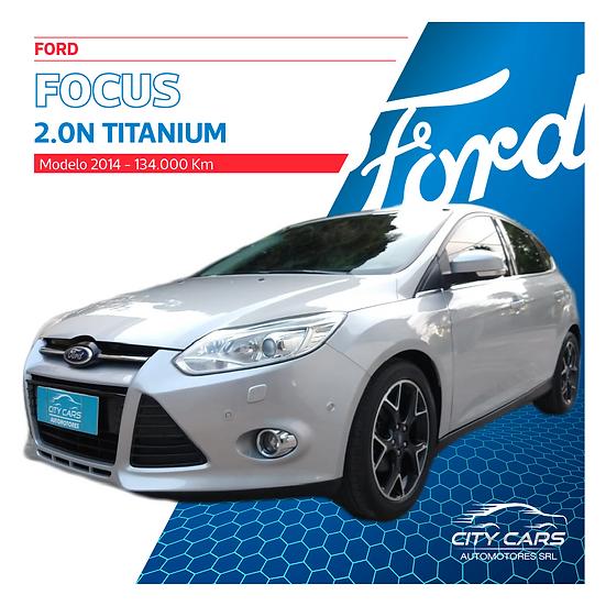 Ford Focus Titanium 2.0N