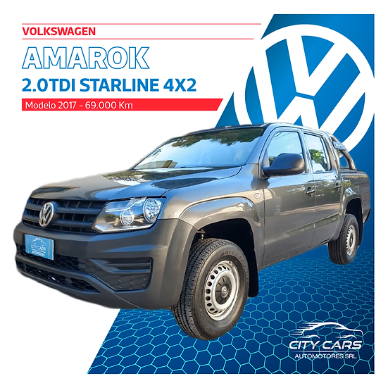 Volkswagen Amarok Starline 4x2 140HP