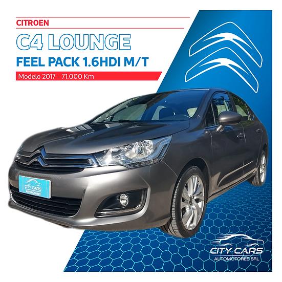 Citroen C4 Lounge Feel Pack 1.6 HDI