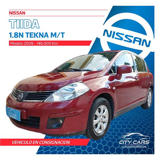 Nissan Tiida Tekna 1.8
