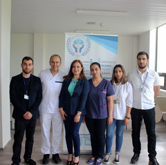 Trainers and Volunteers with the President of the Federation