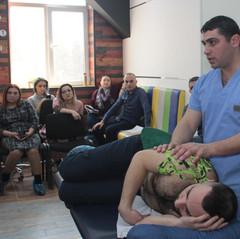 "Seminar on Kinesiotherapy at ""Validus"" MC"