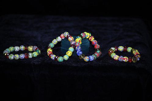 Ghana Krobo Beads Bracelet