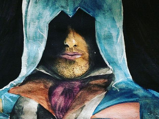 Assassin's Creed Watercolour Painting