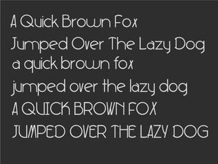 Original Font Design