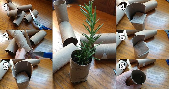 Biodegradable Seed Starter Pots