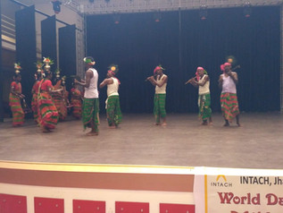 World Dance Day Celebrated at Senior Block Auditorium