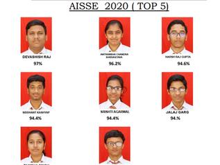 AISSE -2020 TOP 5 SCORERS