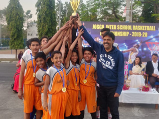 Won the JOGA Inter School Basketball Tournament