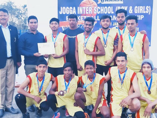 Won the First Prize in Jogga Inter School Basketball Championship 2019
