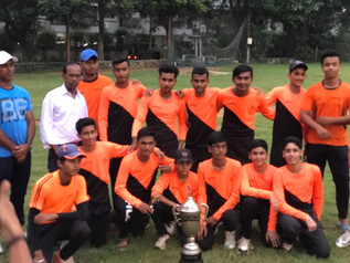 Won The Cricket Tournament organized by Jamshedpur Sports Club
