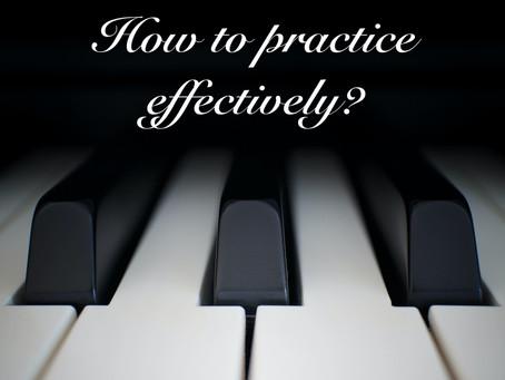 练琴,练琴,到底在练什么?Sarah老师教你如何练琴30分钟=2小时