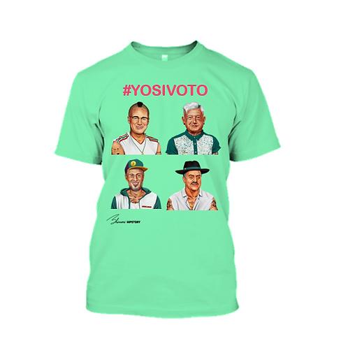 #YOSIVOTO 4 Candidatos Menta