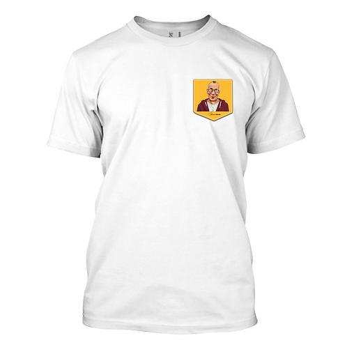 Dalai Lama in a pocket Playera para Hombre