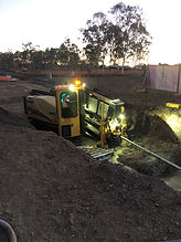 rising sewer main - drilling - remote wo