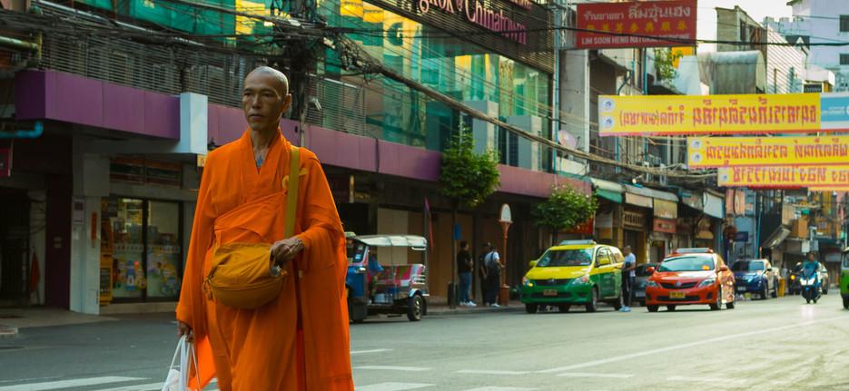 Monk at Bangkok