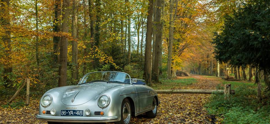 Porsche 356 Speedster - fotoshoot