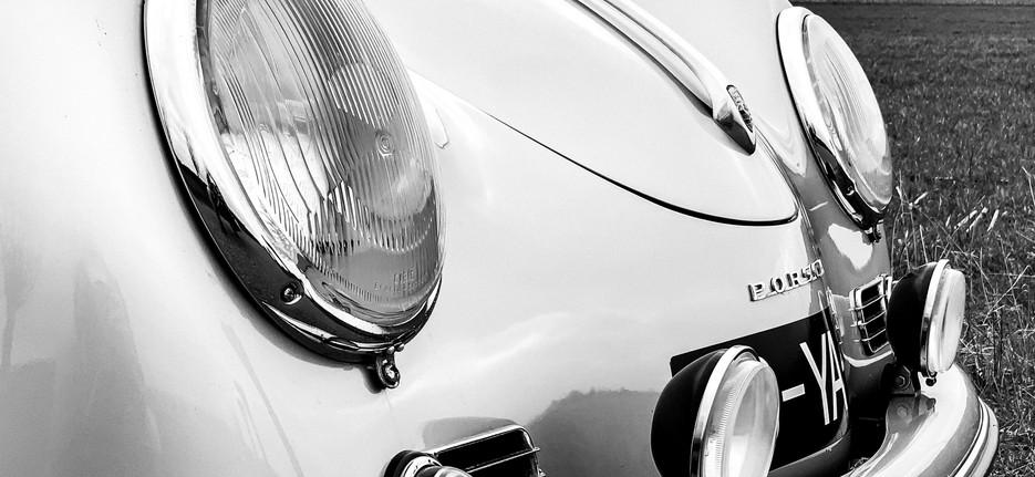 Headlights - Porsche 356 Speedster - photoshoot