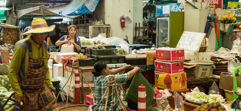 Foodmarket Bangkok Thailand
