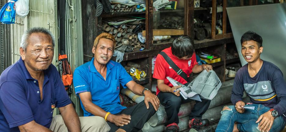 Metalworkers Bangkok Thailand