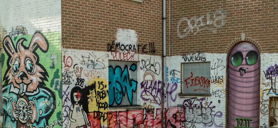 Urbex street art