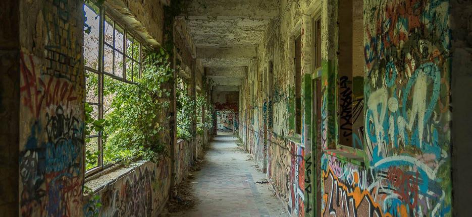 Former German hospital, worldwar 1 and 2