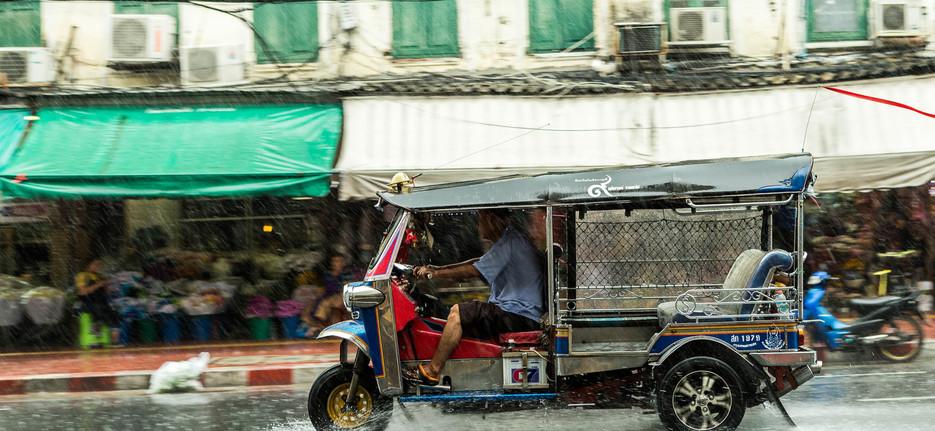 TukTuk in the rain, Bangkok