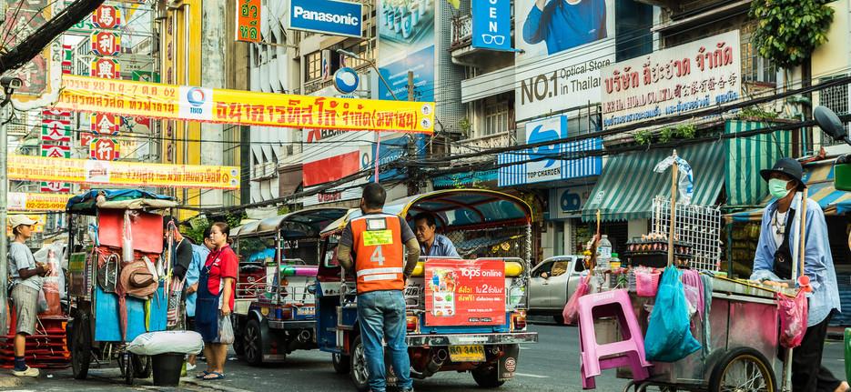 Streets of Chinatown Bangkok
