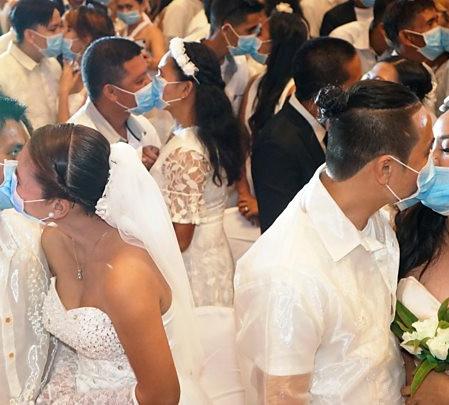 Wedding Ceremonies Conducted Amid Coronavirus