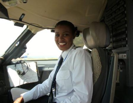 Meet Rwanda's First Female Pilot