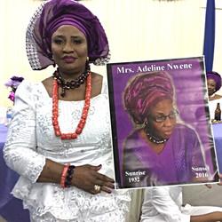 Wake Keeping of Mrs Adeline Nwene
