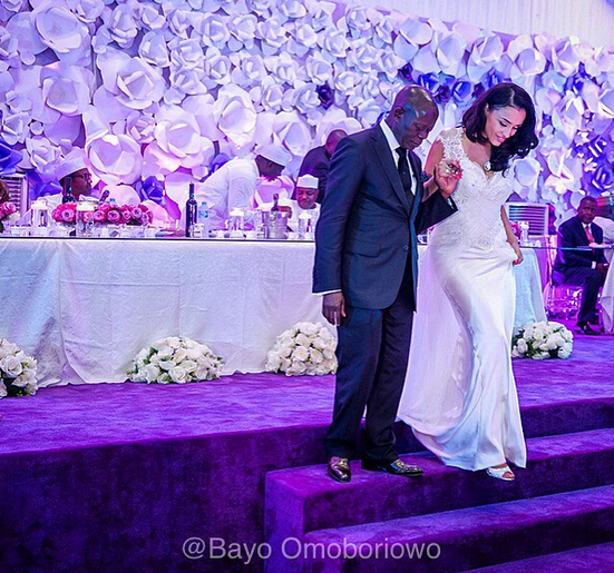 Governor Adam Oshiomole's Wedding