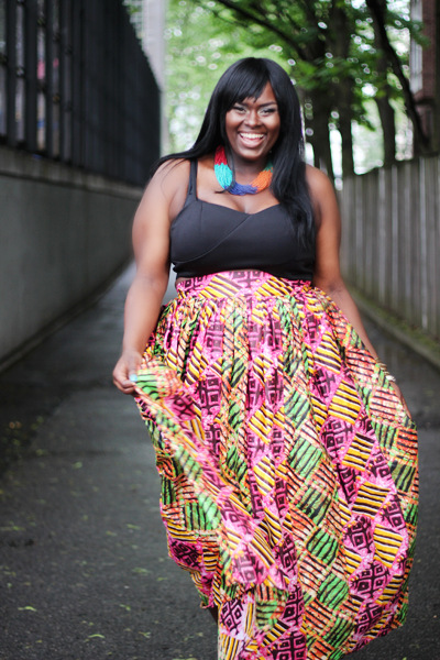 Hot African-Inspired Plus Size Line