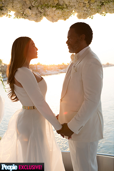 Tina Knowles & Richard Lawson's Weds
