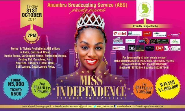 Miss Independence Anambra 2014