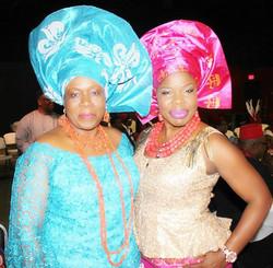 Christy Onwuemelie and Amaka Nwguji
