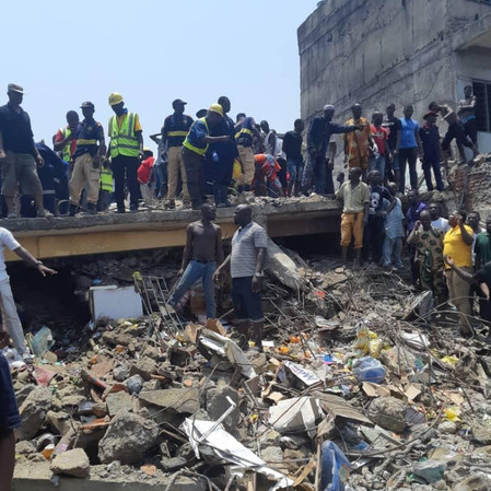 About 100 Pupils Feared Killed in Lagos School Collapse