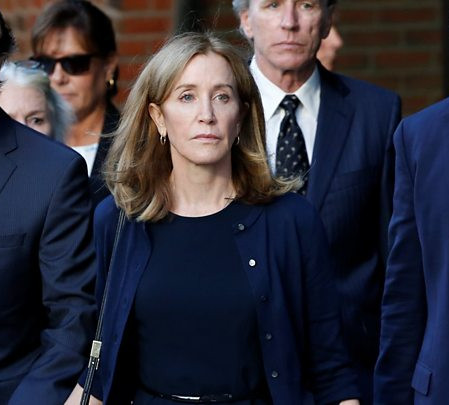 Felicity Huffman Given Jail Time Over College Admissions Scandal