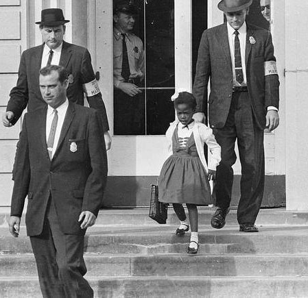Ruby Bridges, First Black Child To Attend All An All White School
