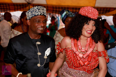 Monalisa Chinda Traditional Wedding
