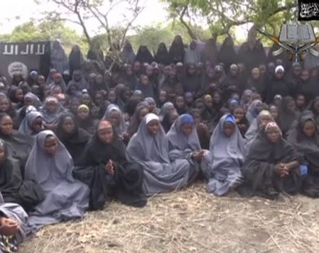 Missing School Girls Kidnapped by Boko Haram spotted for the first time by Nigerian Military
