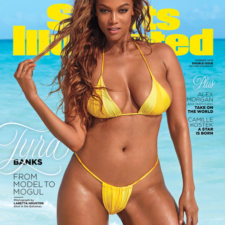 Tyra Banks, 45, Stuns On The Cover Sports Illustrated Swimsuit