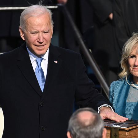 President Joe Biden Inauguration 2021. God Bless America!!!