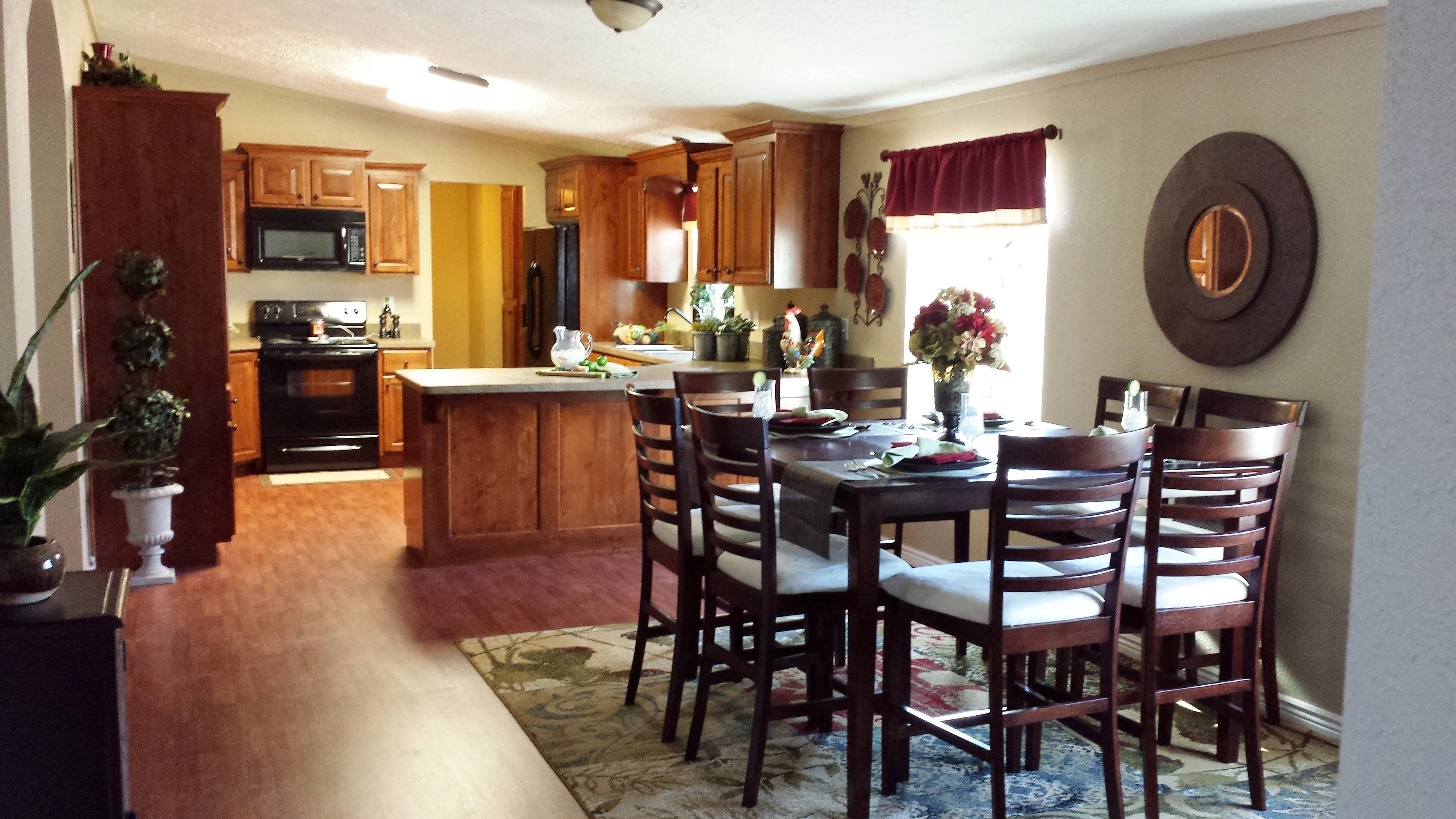Large custom kitchen at Pinewood