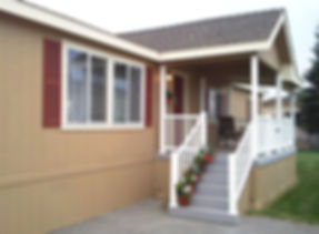 Attractive manufactured home