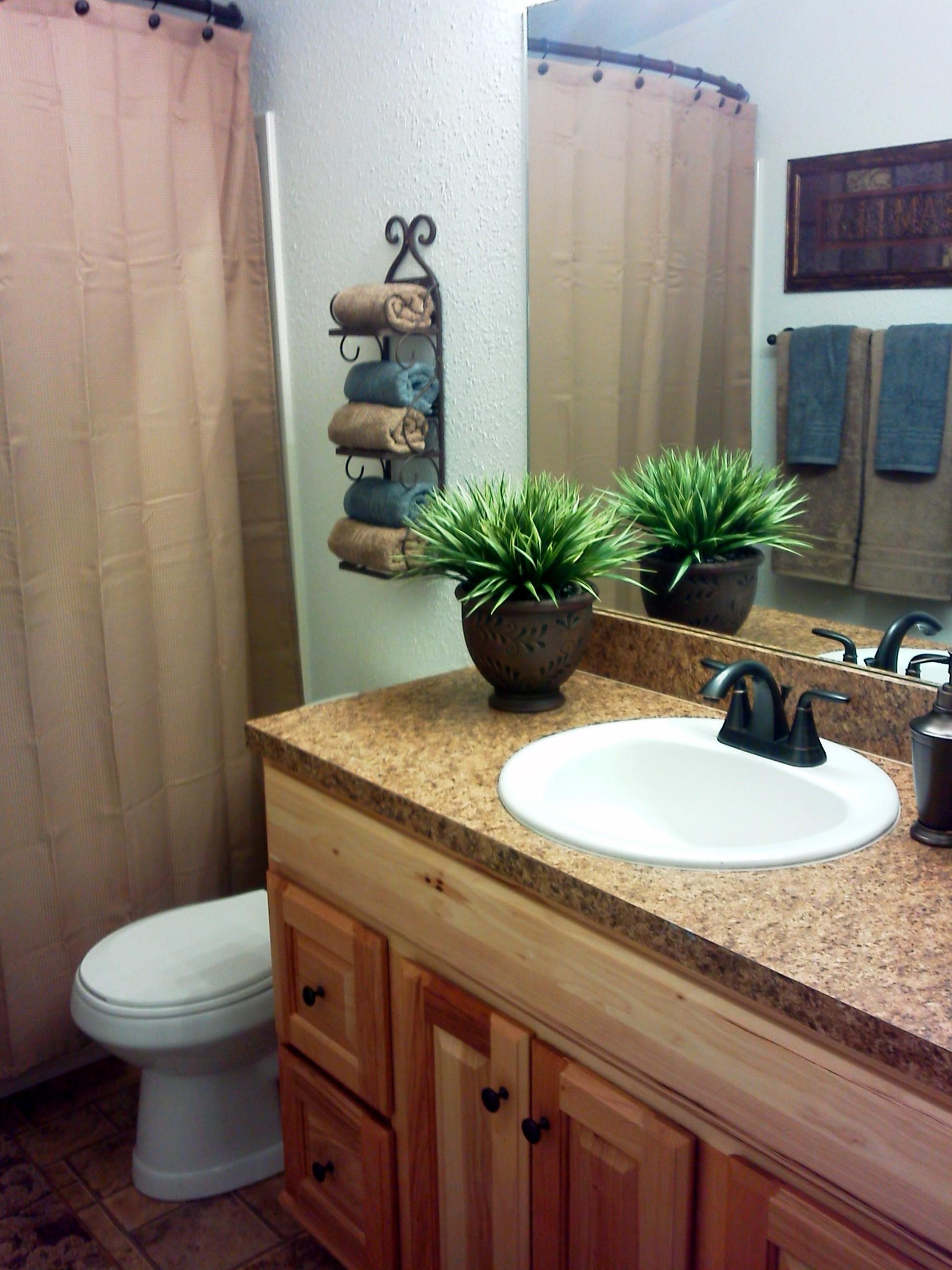 Attractive family bathroom