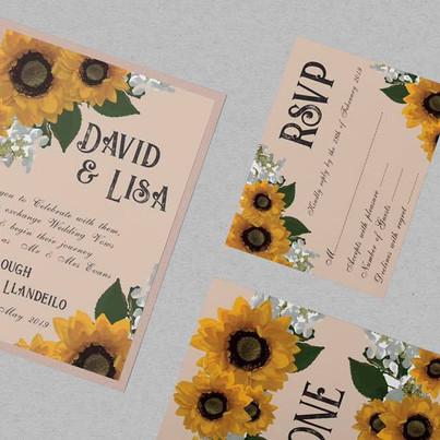 Sunflowers & Nude for David & Lisa